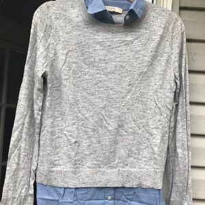 Loft Size: M Long Sleeve light Weight Sweater.